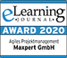 MaxLearning - Die Maxpert elearing Award 2020 Agile Project Management